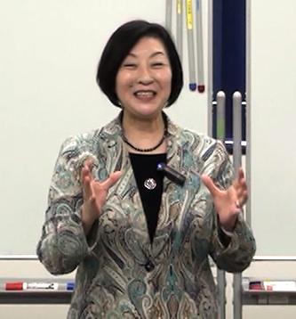 下平久美子先生講義風景