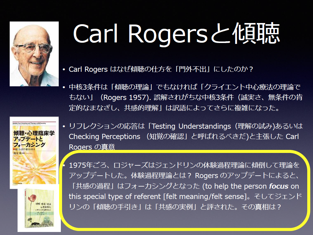 カール・ロジャースと傾聴