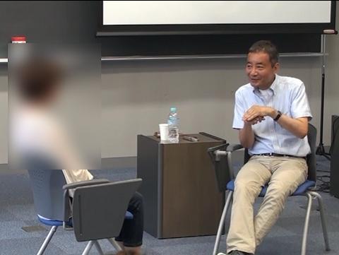池見先生のフォーカシングセッション(DVDにモザイクはかかっていません)