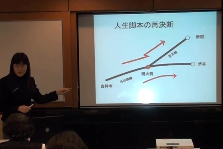 吉祥寺? 明大前? 鈴木先生がITAA国際資格取得時に使用したスライド